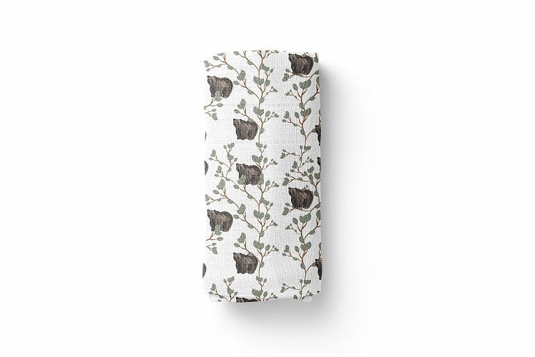 Bear Luxury Baby Swaddle Blanket - For Child