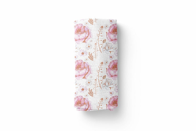Gypsy Luxury Baby Swaddle Blanket - For Child