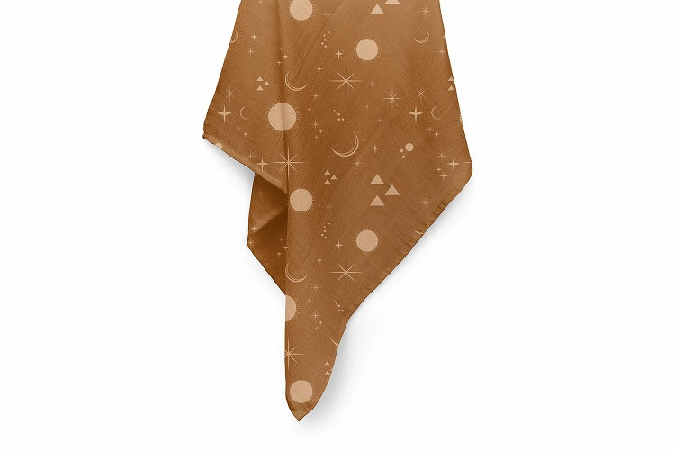 Stars & Moon Luxury Baby Swaddle Blanket - For Child