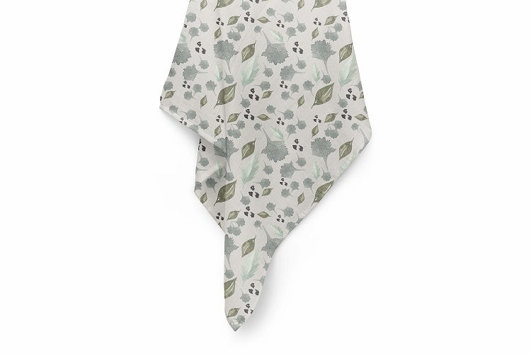 Sage Luxury Baby Swaddle Blanket - For Child