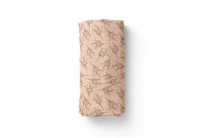 Wildflower Luxury Baby Swaddle Blanket - For Child