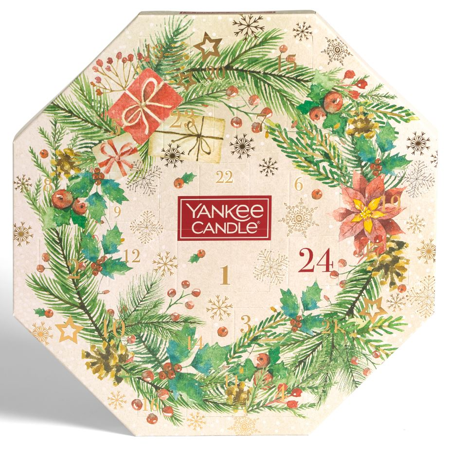 Yankee Candle Calendario dell'avvento Ghirlanda tea light - Yankee Candle - Iperverde