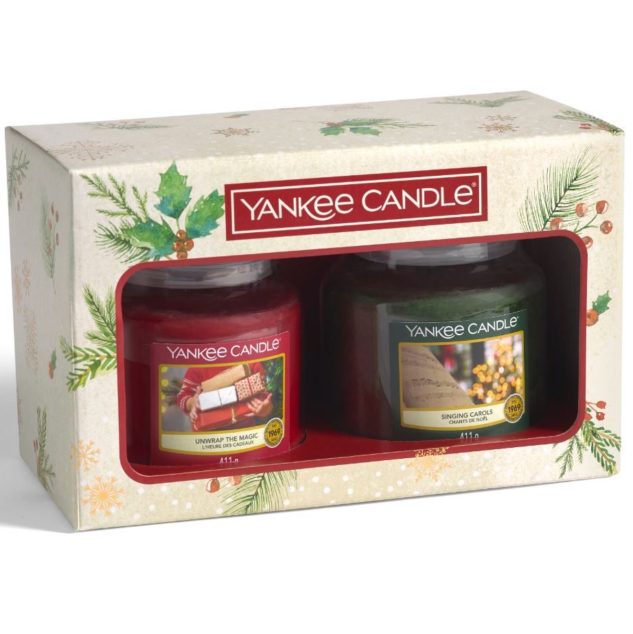 Yankee Candle confezione regalo Natalizia con 2 giare medie - Yankee Candle - Iperverde