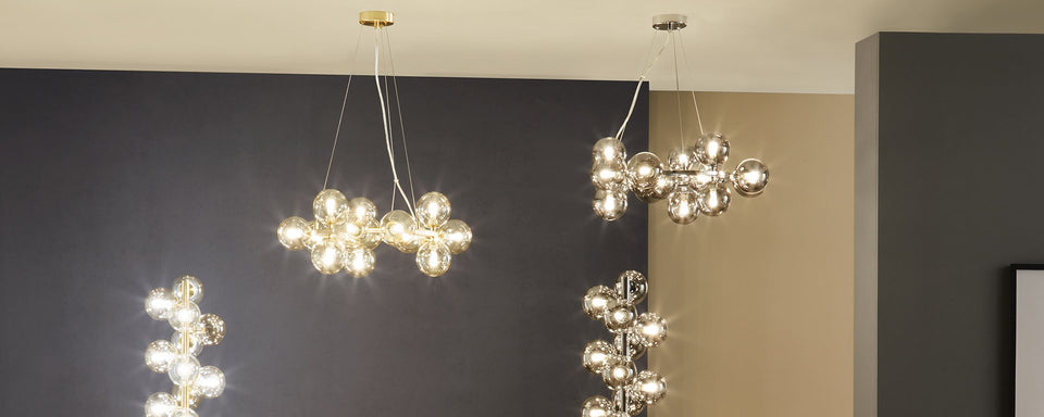 Statement lighting collection