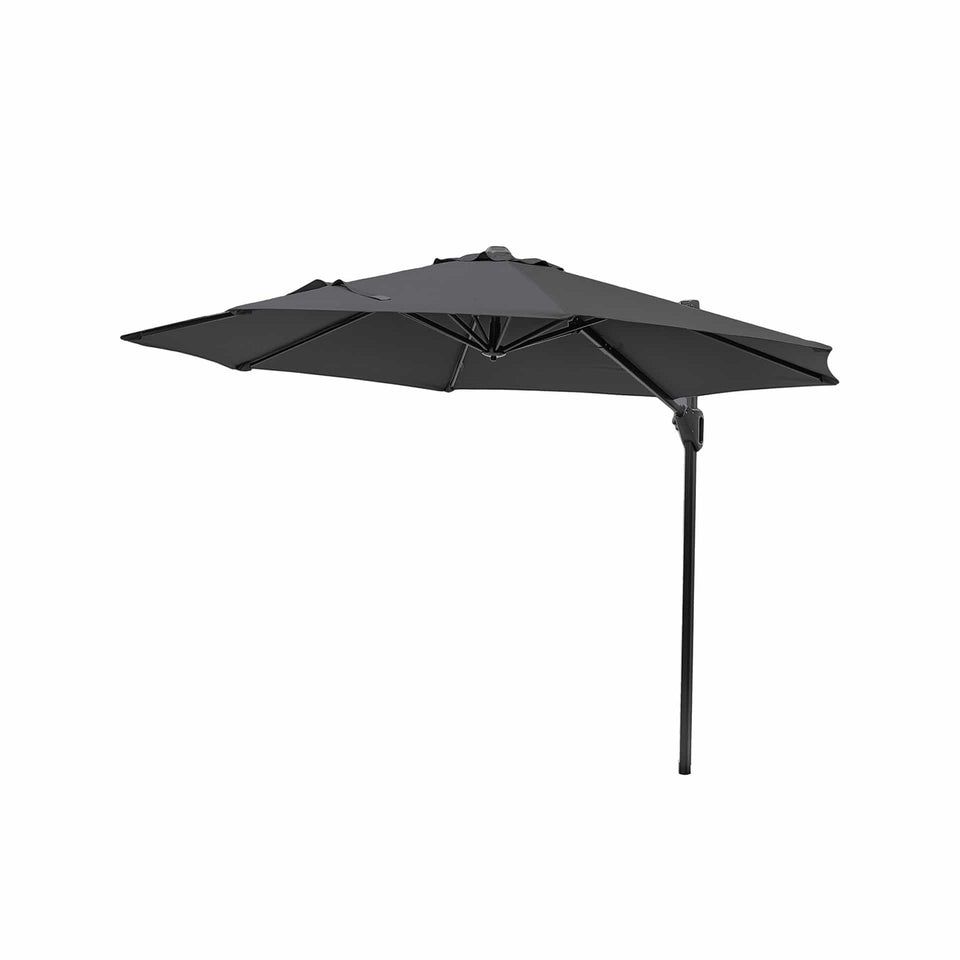 Voyager T1 Anthracite Round Parasol