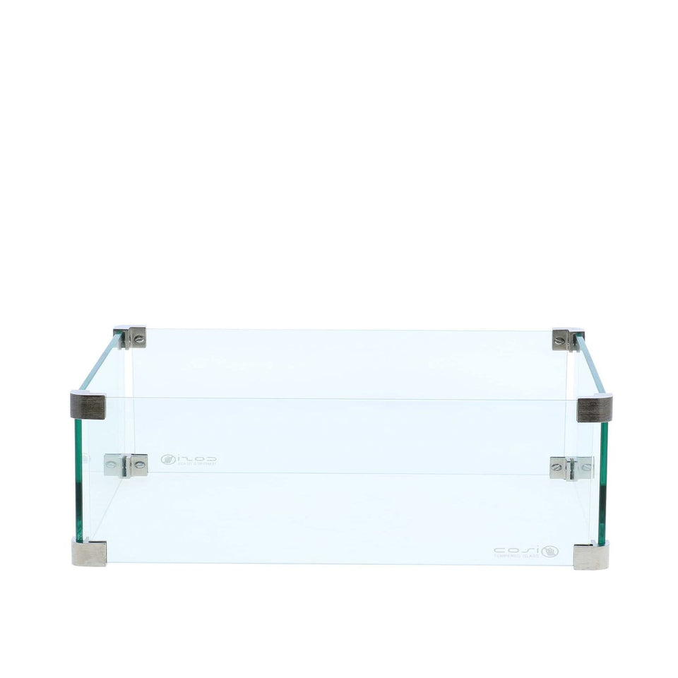 Cosi Glass for the Black/Teak Cosiloft Coffee Table