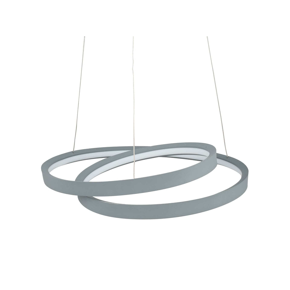 Cetus Grey LED Ring Pendant