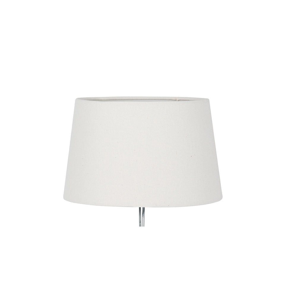 Whitsand Cream Calico Tapered Cylinder Shade
