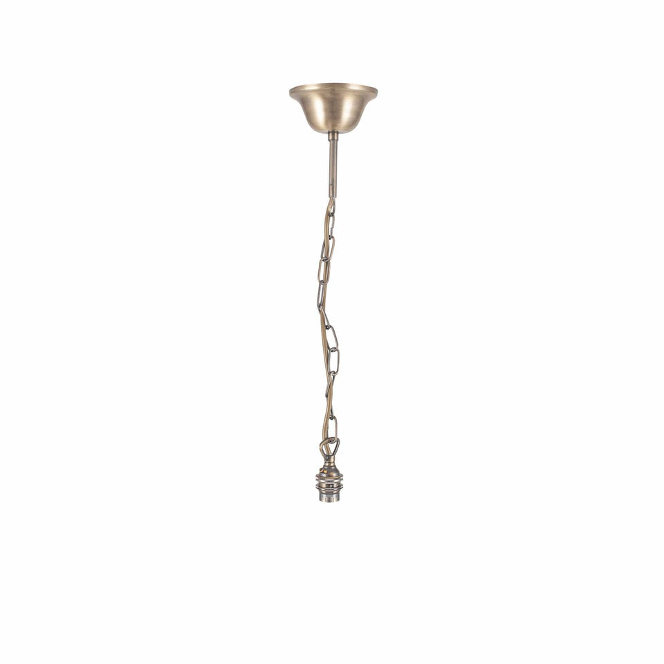 Eliza Antique Brass Traditional Electrified Fitting