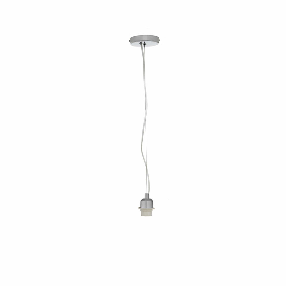 Freya Brushed Chrome Contemporary Electrified Fitting