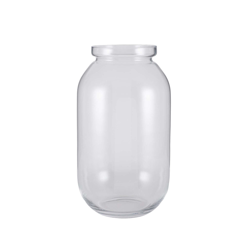 Palma Clear Glass Tall Jar
