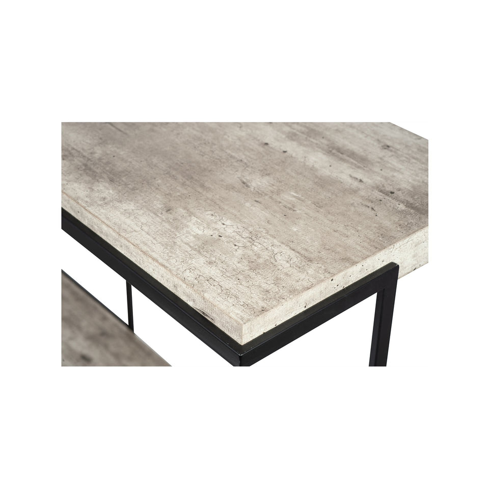 Newburgh Concrete Effect MDF Console Table