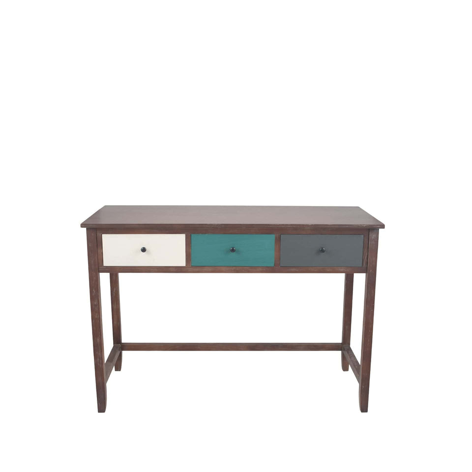 Staten Statement Pine Wood Desk