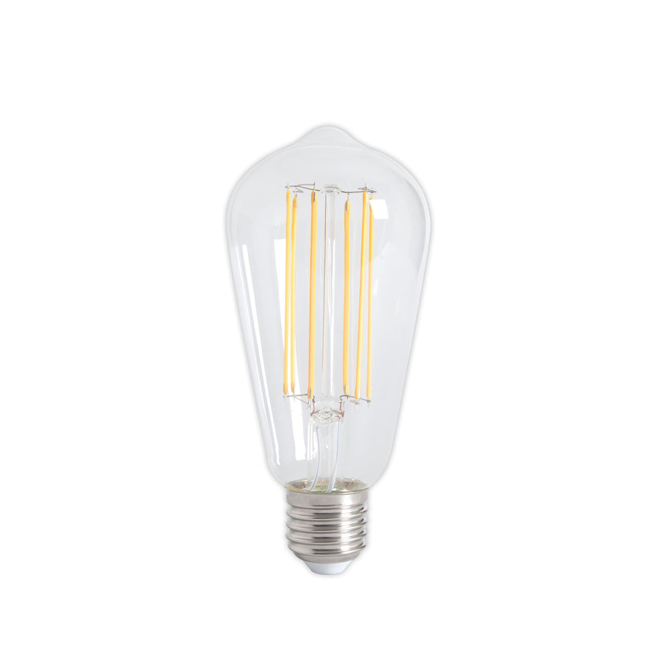 Flex E27 Clear LED Flex Filament Vintage Bulb