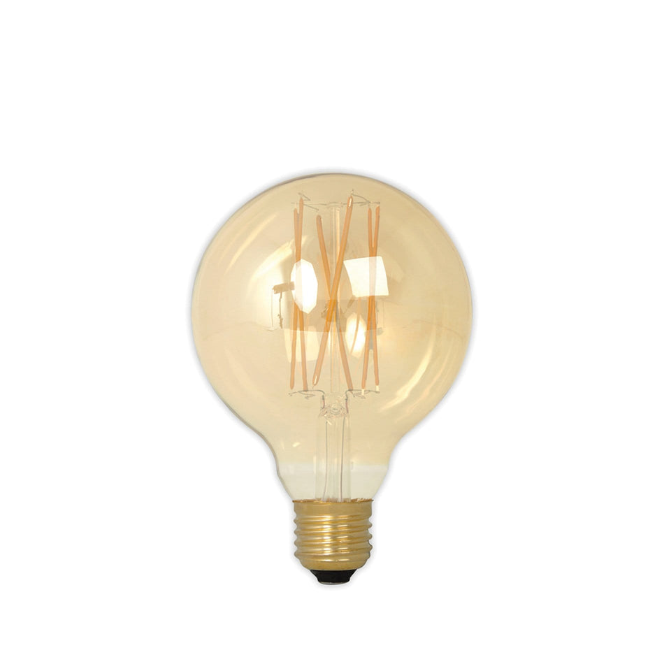 Lexie E27 LED Lustre Filament Globe Bulb