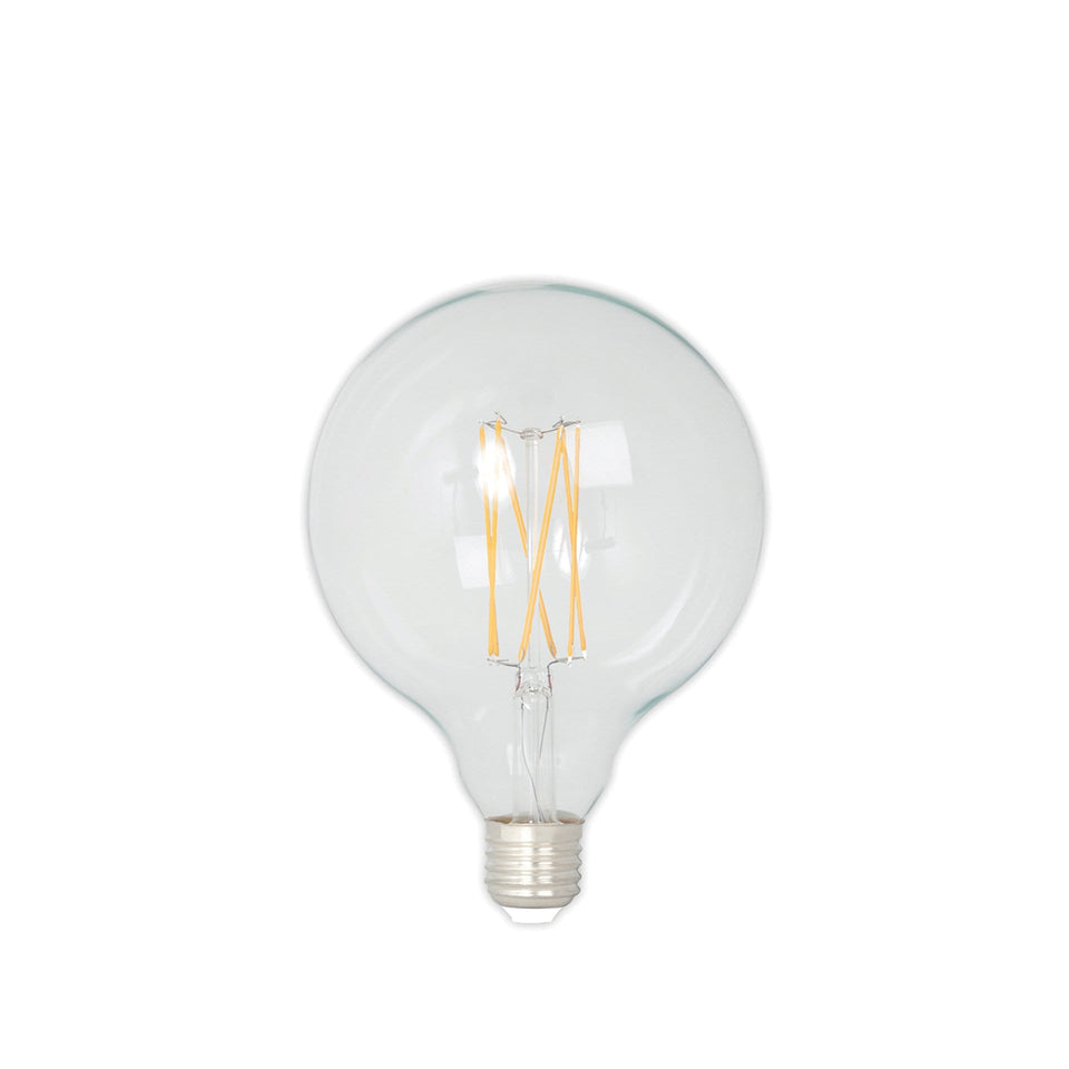 Bertie E27 LED Clear Filament Large Globe Bulb