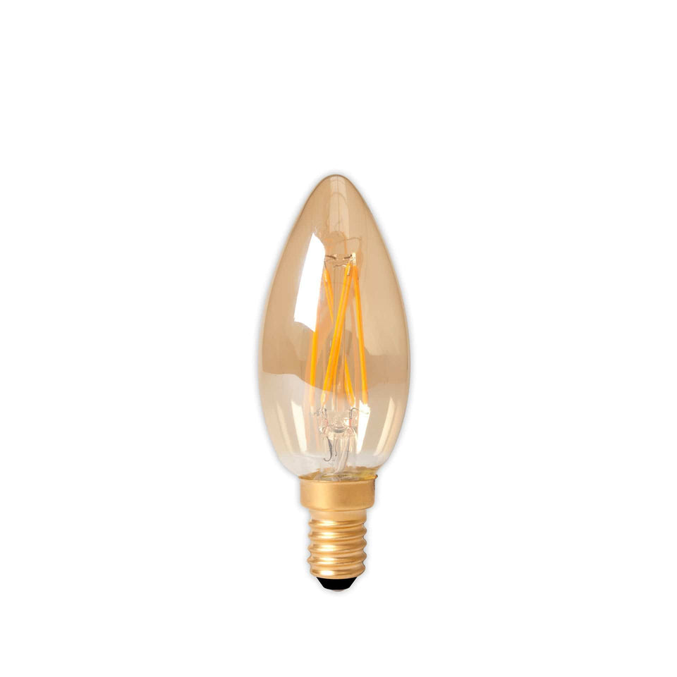 Lizzie E14 LED Lustre Filament Candle Bulb