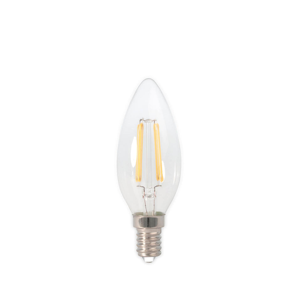 Lizzie E14 LED Clear Filament Candle Bulb