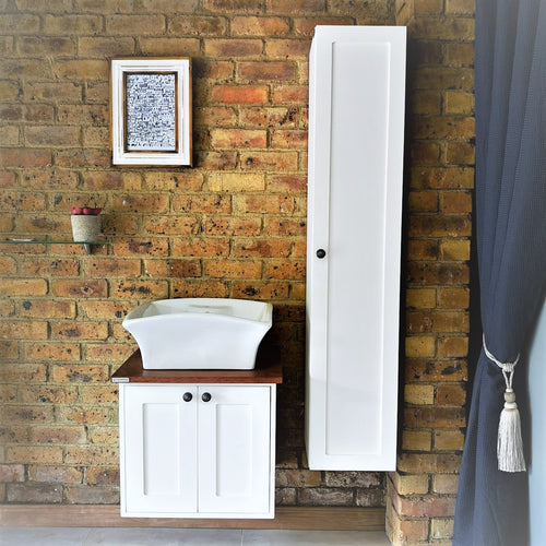 Hampshire Three Piece Vanity Set- Vanity, Side Cabinet and Basin