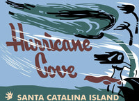 Hurricane Cove Catalina Island Tiki Bar Polynesian Restaurant Matchbook  Shirt