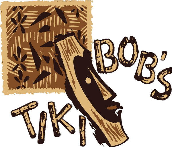 Tiki Bob's of San Francisco Matchbook Art Tiki Bar T-shirt Style #2