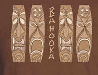 Tiki Bar Reproduction Bahooka Matchbook Men's T-Shirt