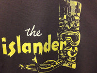 Tiki Bar Vintage Reproduction Islander Restaurant Los Angeles Men's T-Shirt