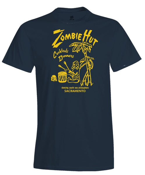 ZOMBIE HUT TIKI BAR POLYNESIAN RESTAURANT MATCHBOOK ART T-SHIRT #2