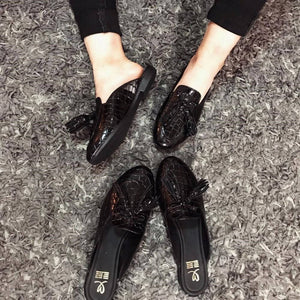 Loafers negros