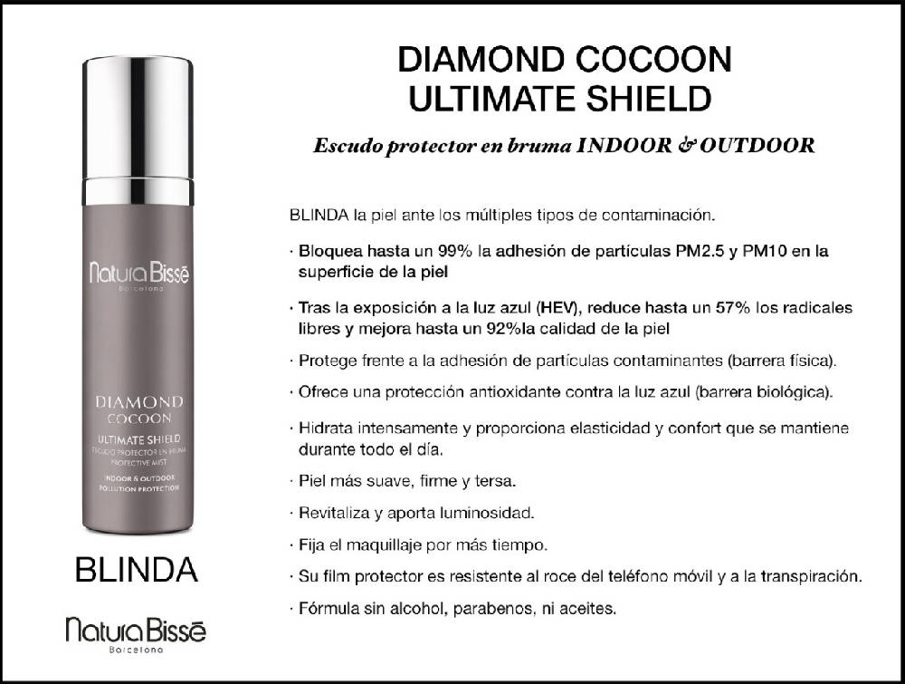 Diamond Cocoon Ultimate Shield escudo protector en bruma