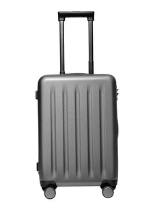 708 Lombard Soft Side Cabin Luggage Black 20 Inch Trolley Bag