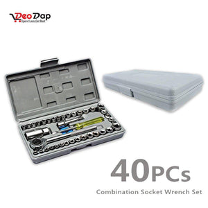 421 Socket Combination Toolkit (40 pcs)