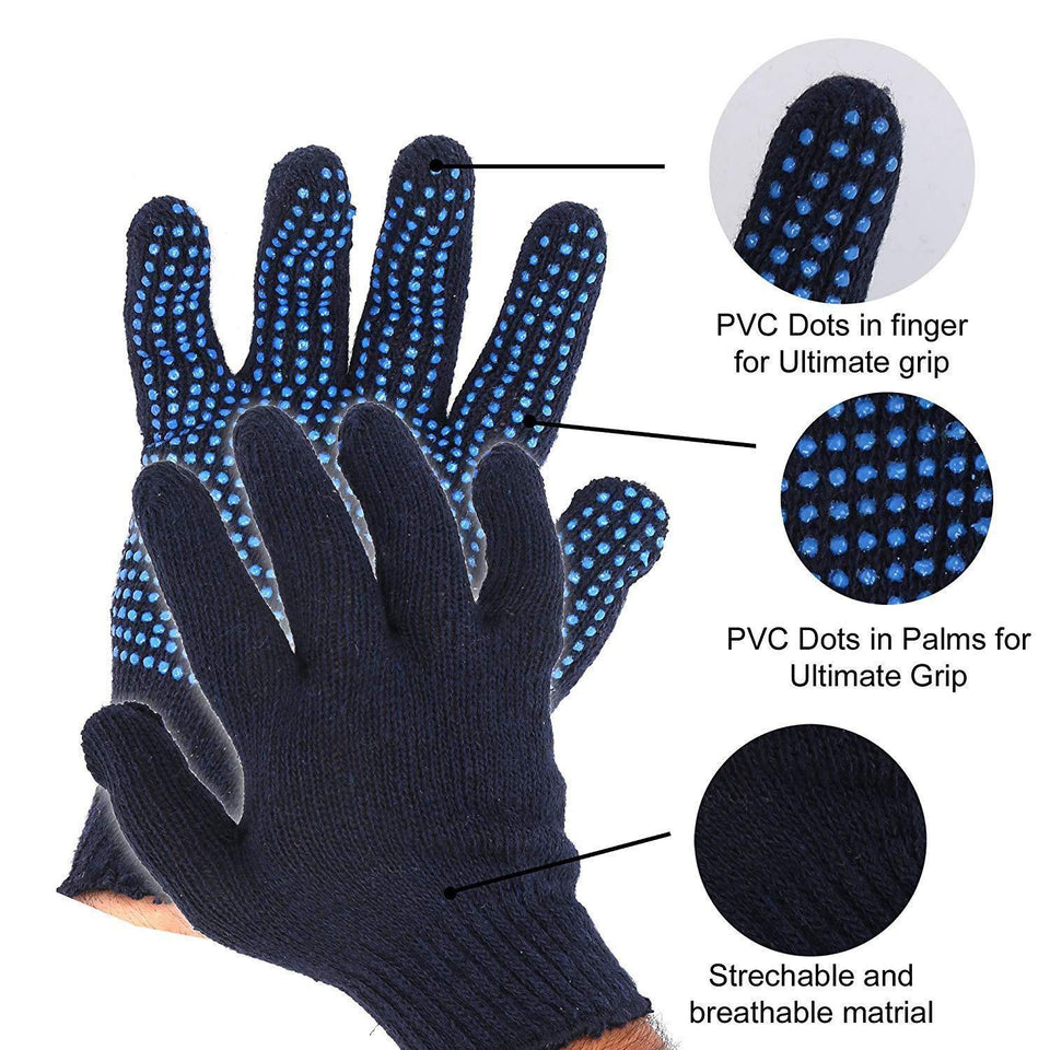 713 Cotton Polyester Mens Work Gloves