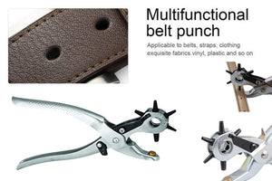 440 Revolving Leather Punch Plier