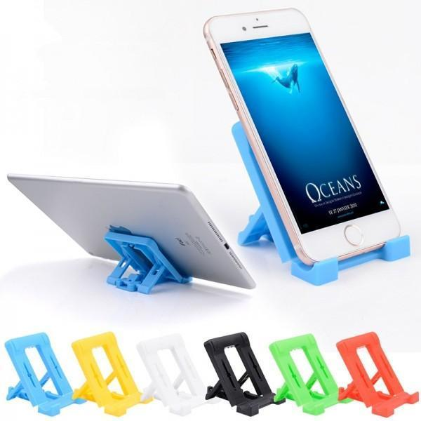 610 Adjustable 4 Steps Foldable Mobile Stand Holder (1 pc)