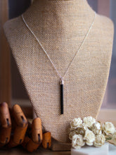 Load image into Gallery viewer, Dark Night Tourmaline Necklace