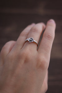 Sakura Dainty Stacker Ring