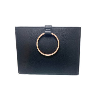 Cristallo Black Clutch Bag