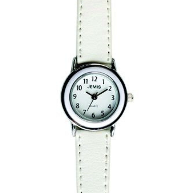 First Holly Communion White Leather Watch