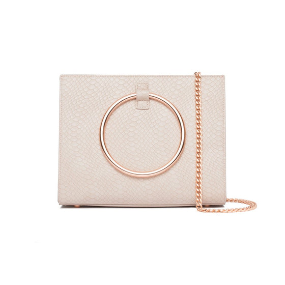 CRISTALLO LIGHT PINK HANDBAG