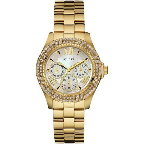 Ladies Guess Gold Watch W0623L2