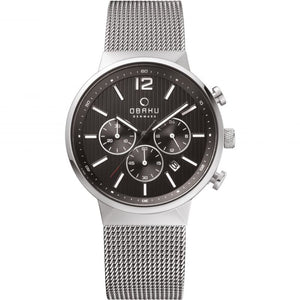 Obaku Mens  Storm Chronograph Watch