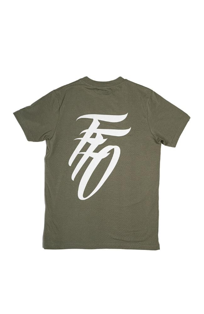 Far From Ordinary Mock Neck Tee - Green - T-Shirts - Ordnry Clothing | Far From Ordinary | FFO | streetwear | Worldwide Shipping