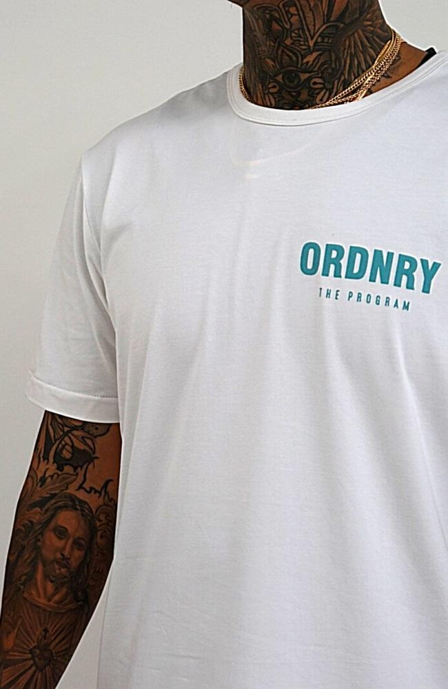 The Program Tee - White - T-Shirts - Ordnry Clothing | Far From Ordinary | FFO | streetwear | Worldwide Shipping