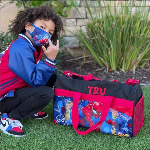 Personalized Sleepover Duffel Bags for Kids