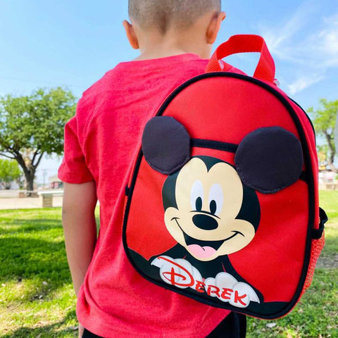 Personalized Disney Mickey Mouse Harness Backpack