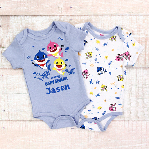 Personalized Baby Shark Clothes