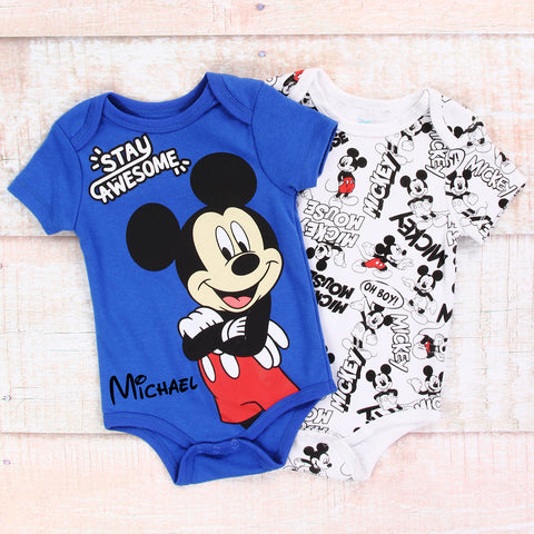 Personalized Disney Baby Clothes