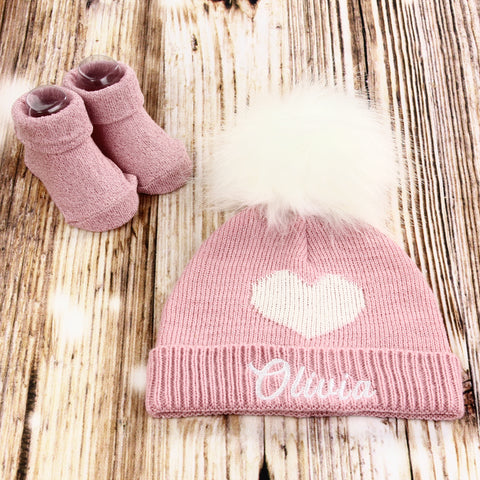Personalized Baby Hat, Baby Shower Gift