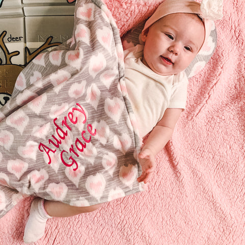 Personalized Baby Blankets Baby Shower Gift
